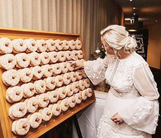 WeddingDonutWall1